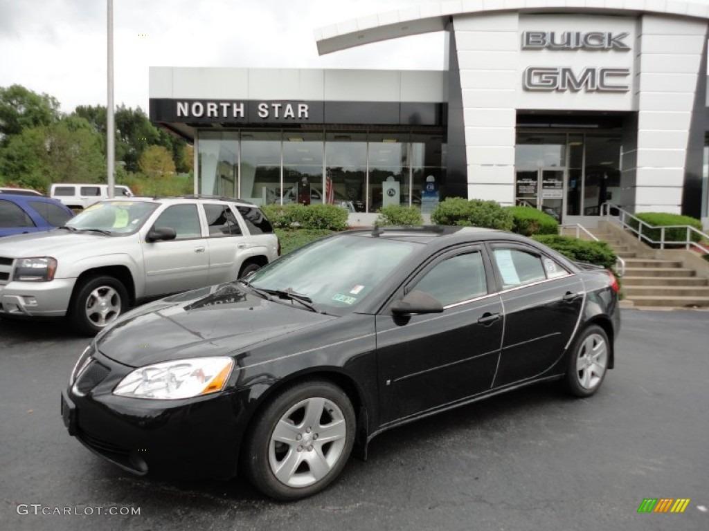 2009 Carbon Black Metallic Pontiac G6 Sedan 54791787