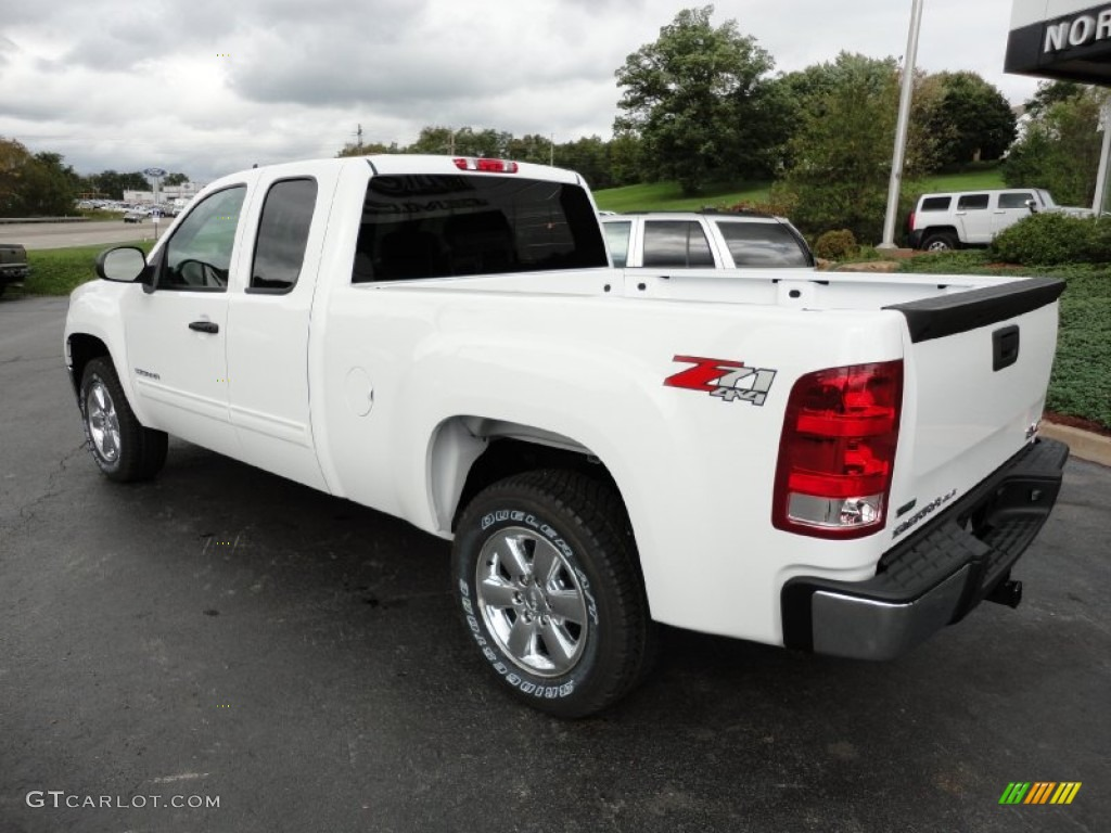 summit white 2012 gmc sierra 1500 sle extended cab 4x4 exterior photo 54806467. Black Bedroom Furniture Sets. Home Design Ideas