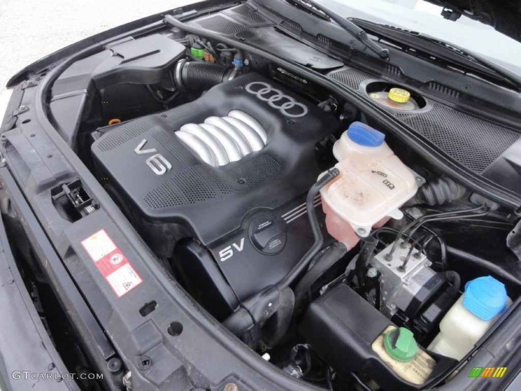 1999 Audi A4 2.8 quattro Sedan 2.8 Liter DOHC 30-Valve V6 Engine Photo #54810829