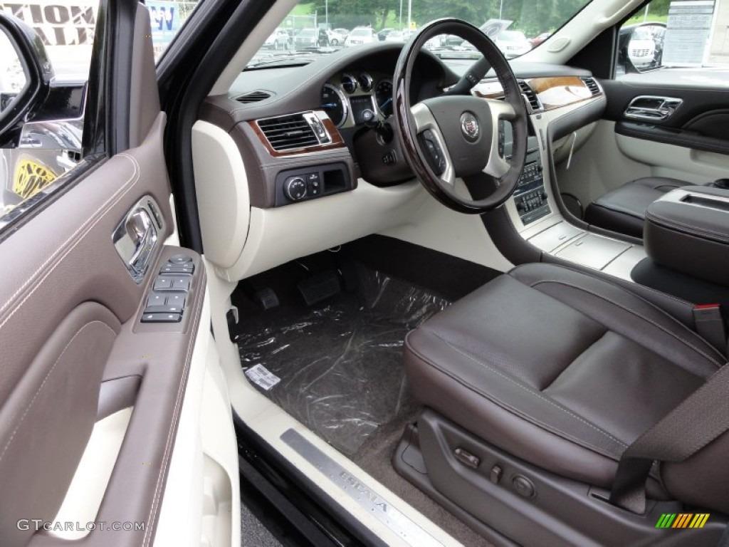Cocoa Light Linen Interior 2012 Cadillac Escalade Platinum Awd Photo 54814249