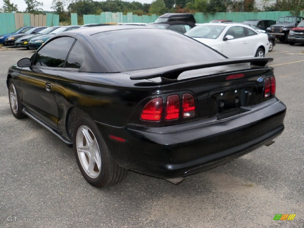 Black 1996 ford mustang gt coupe exterior photo 54815800
