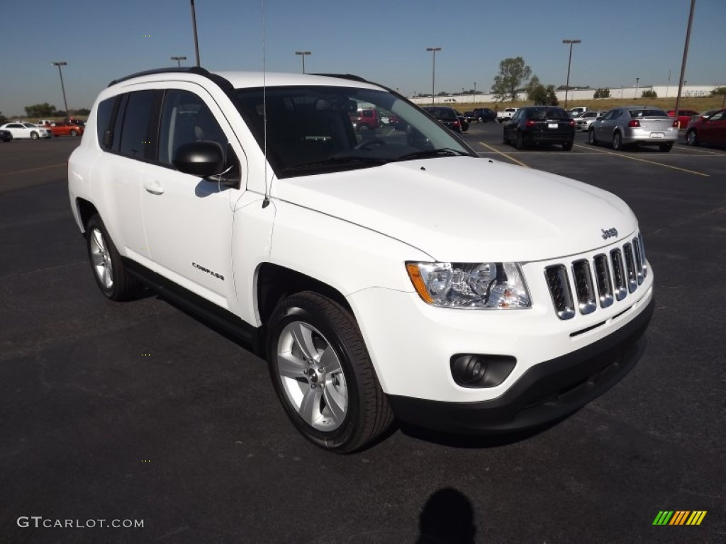 bright white 2012 jeep compass sport exterior photo 54821128. Black Bedroom Furniture Sets. Home Design Ideas