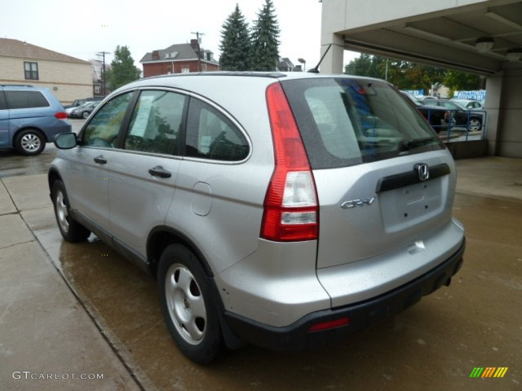 2009 CR-V LX 4WD - Alabaster Silver Metallic / Gray photo #2