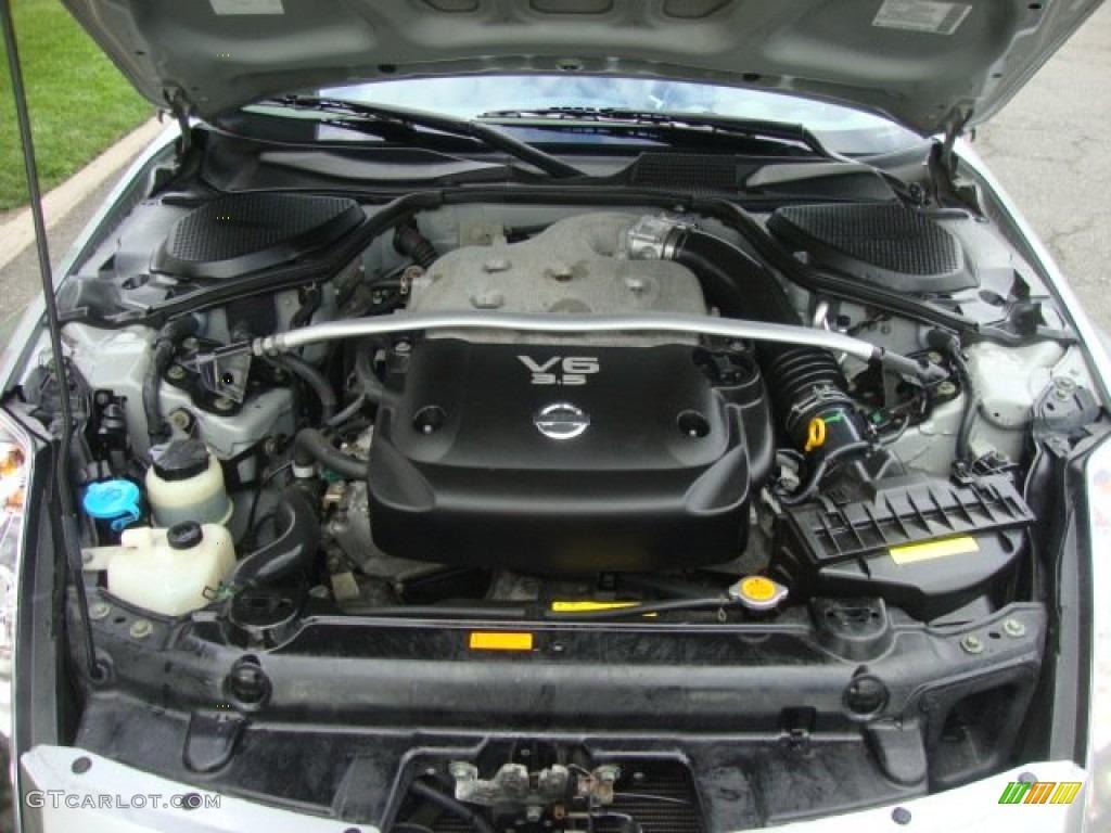 2003 nissan 350z touring coupe 3 5 liter dohc 24 valve v6. Black Bedroom Furniture Sets. Home Design Ideas