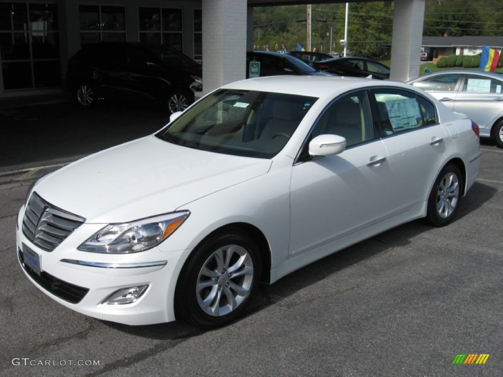 2013 Genesis Sedan White Www Pixshark Com Images Galleries With A Bite