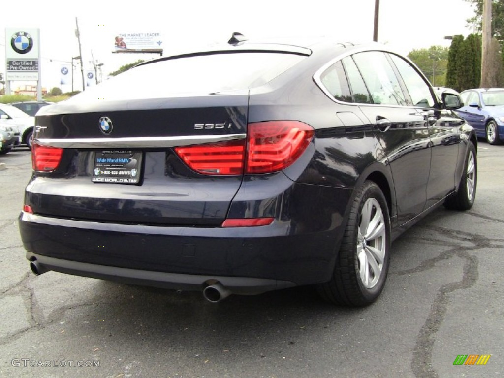 2011 imperial blue metallic bmw 5 series 535i xdrive gran. Black Bedroom Furniture Sets. Home Design Ideas