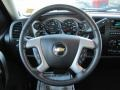 Ebony Steering Wheel Photo for 2011 Chevrolet Silverado 1500 #54847345