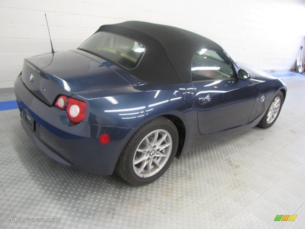 2005 Toledo Blue Metallic Bmw Z4 2 5i Roadster 54851440