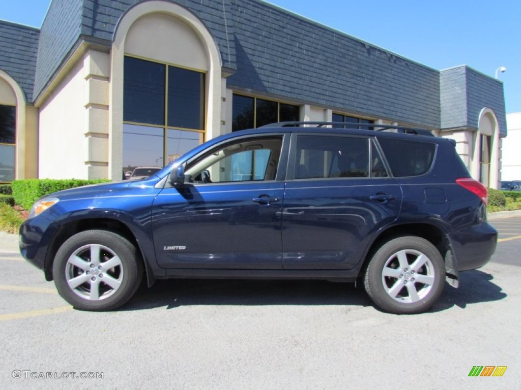 Nautical Blue Metallic 2007 Toyota Rav4 Limited Exterior