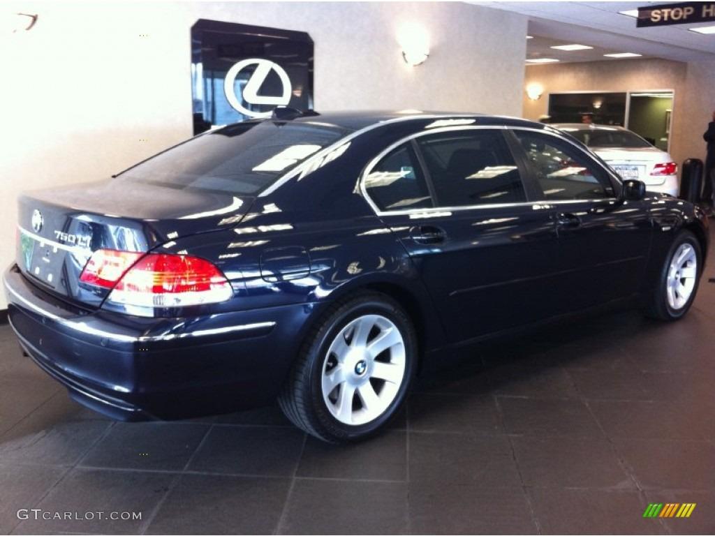 2007 Azurite Black Metallic BMW 7 Series 750Li Sedan 54851721
