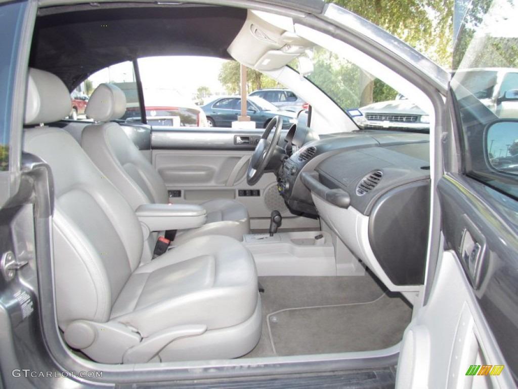 Grey interior 2006 volkswagen new beetle 2 5 convertible photo 54858778 for 2008 volkswagen beetle interior