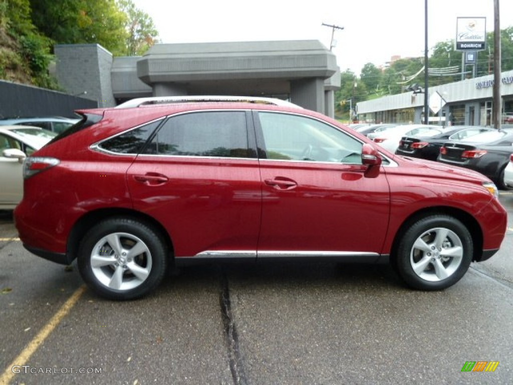Matador Red Metallic 2012 Lexus Rx 350 Awd Exterior Photo 54868300