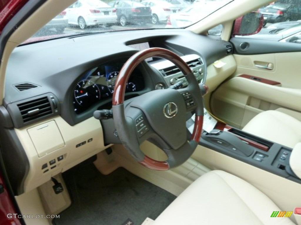 2016 Lexus Rx 350 Parchment Interior Image Of