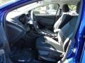 2012 Sonic Blue Metallic Ford Focus SE Sedan  photo #5