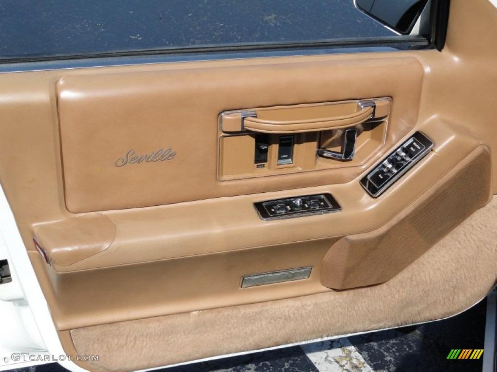 1988 Cadillac Seville Standard Seville Model Saddle Door Panel Photo 54882613