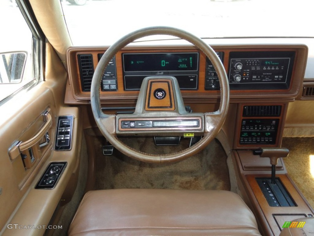 1988 Cadillac Seville Standard Seville Model Saddle