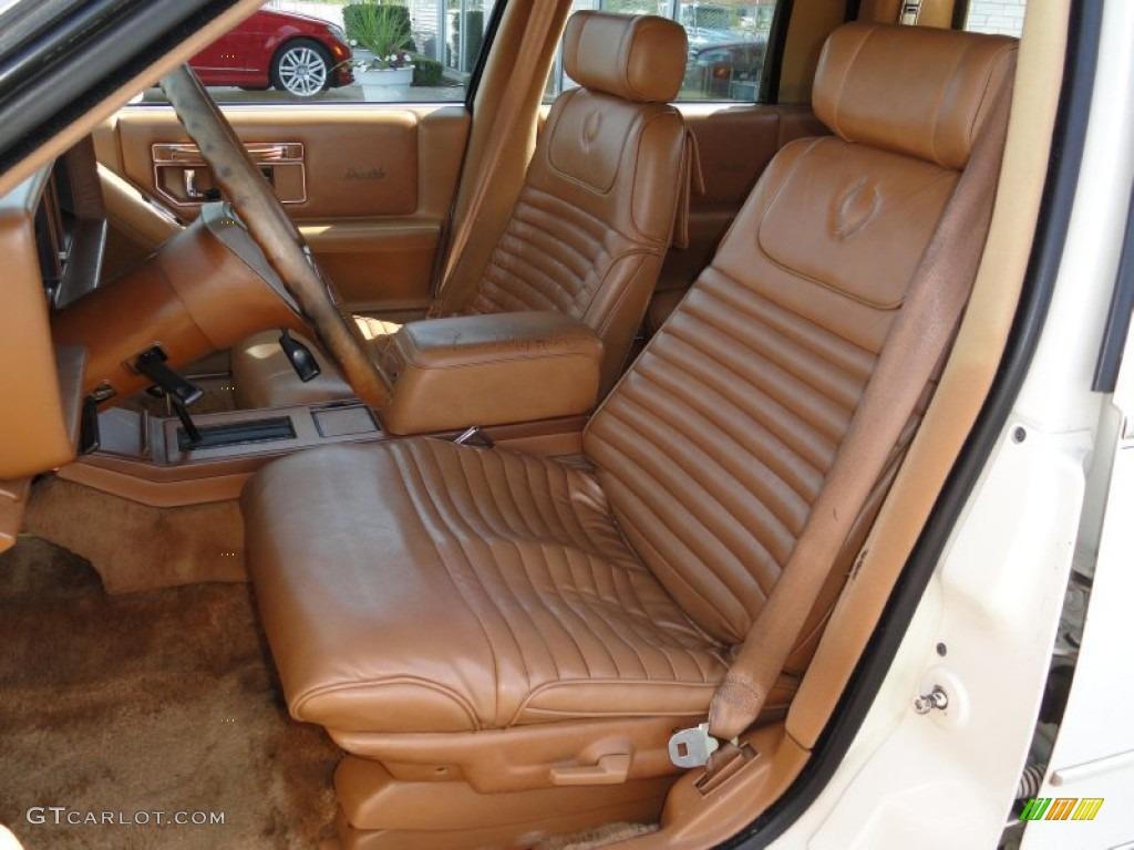 1988 Cadillac Seville Standard Seville Model Interior