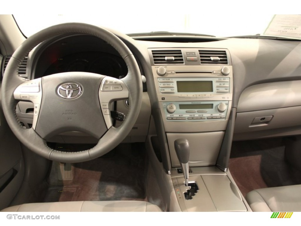 2009 toyota camry hybrid ash dashboard photo 54899216. Black Bedroom Furniture Sets. Home Design Ideas