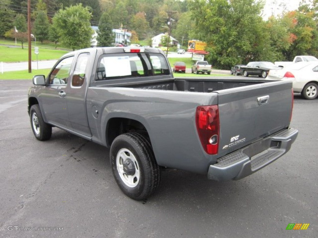 dark gray metallic 2009 chevrolet colorado extended cab 4x4 exterior photo 54913609. Black Bedroom Furniture Sets. Home Design Ideas