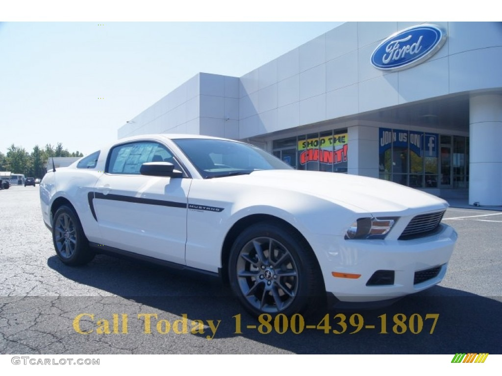 Mustang Club Of America >> 2012 Performance White Ford Mustang V6 Mustang Club Of