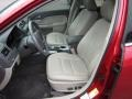 2011 Red Candy Metallic Ford Fusion SEL V6 AWD  photo #16