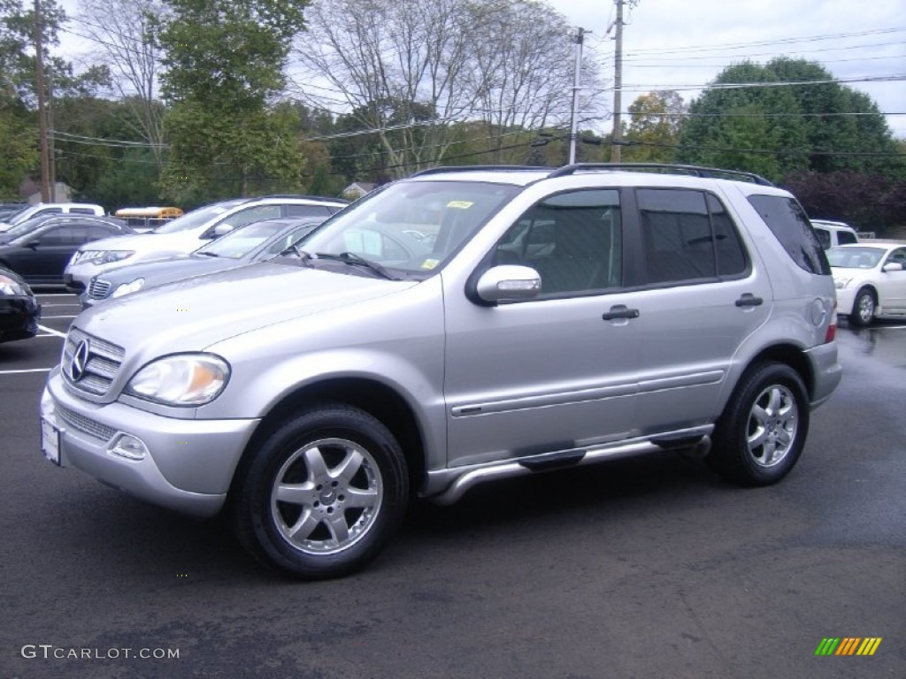 2003 brilliant silver metallic mercedes benz ml 350 4matic for 2003 mercedes benz suv
