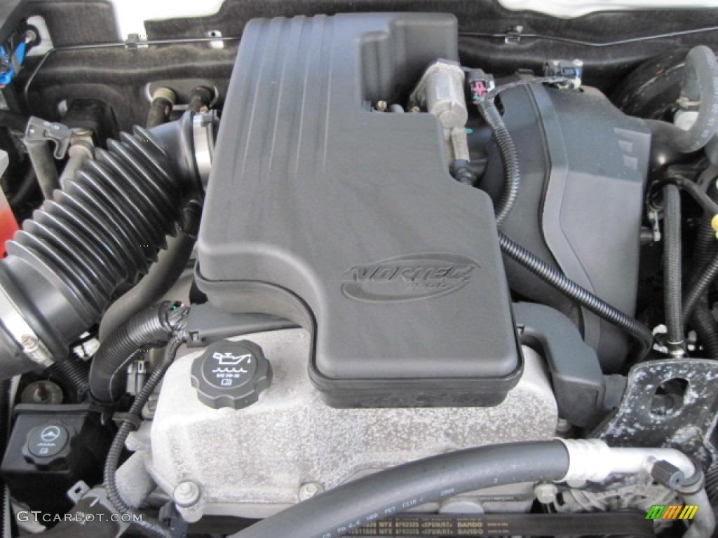 2010 Chevrolet Colorado Regular Cab 2.9 Liter DOHC 16 ...