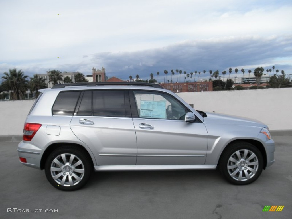 Iridium silver metallic 2012 mercedes benz glk 350 4matic for Mercedes benz silver