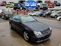 Cadet Blue Metallic 2004 Mercedes-Benz CLK 500 Coupe