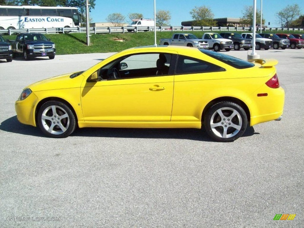 Competition Yellow 2007 Pontiac G5 Gt Exterior Photo