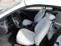 Oxford White Interior Photo for 2002 Ford Mustang #54928453