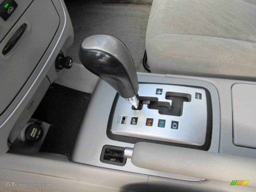 2006 Hyundai Sonata Gl 4 Speed Shiftronic Automatic