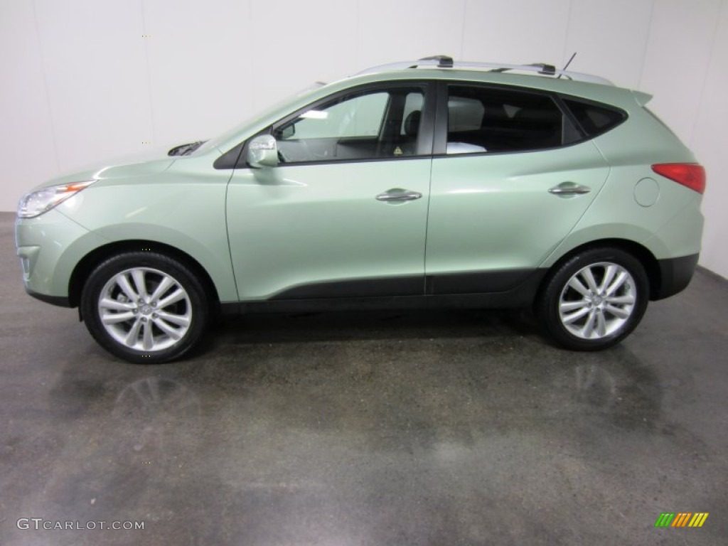 Kiwi Green 2011 Hyundai Tucson Gls Awd Exterior Photo