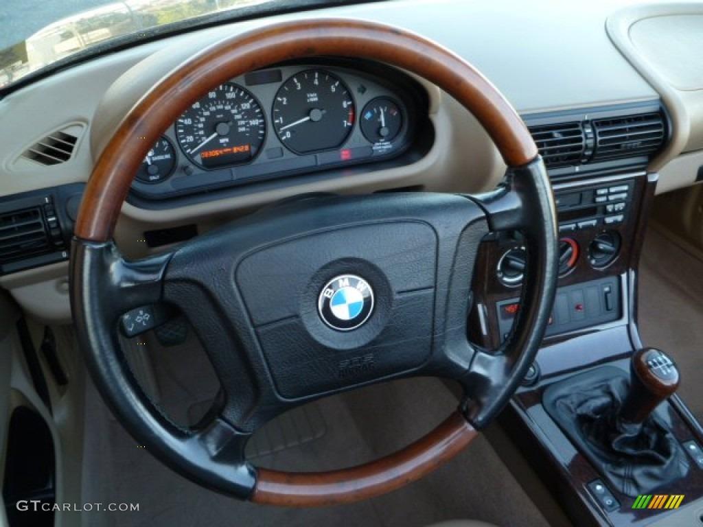 1997 Bmw Z3 2 8 Roadster Beige Steering Wheel Photo