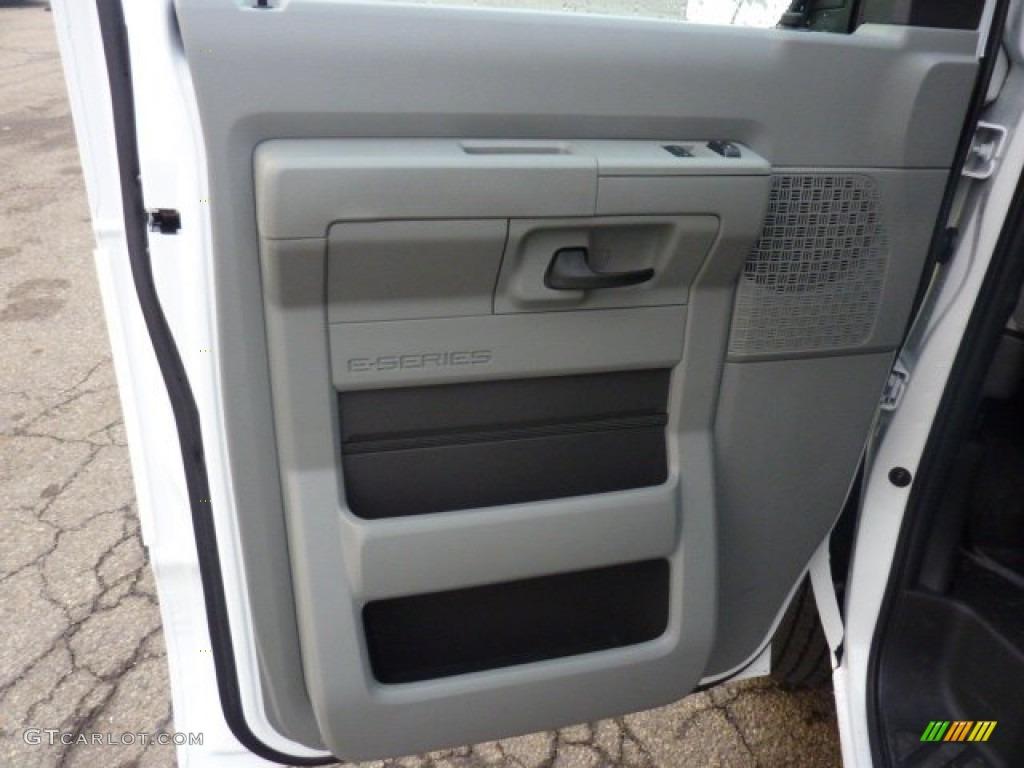 2012 Ford E Series Van E250 Cargo Medium Flint Door Panel Photo 54939672