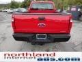 2012 Vermillion Red Ford F250 Super Duty XL SuperCab 4x4  photo #7
