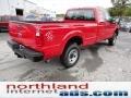 2012 Vermillion Red Ford F250 Super Duty XL SuperCab 4x4  photo #8