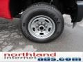 2012 Vermillion Red Ford F250 Super Duty XL SuperCab 4x4  photo #9