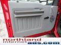 2012 Vermillion Red Ford F250 Super Duty XL SuperCab 4x4  photo #13