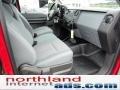 2012 Vermillion Red Ford F250 Super Duty XL SuperCab 4x4  photo #16