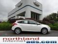 2012 White Platinum Tricoat Metallic Ford Focus SEL 5-Door  photo #1