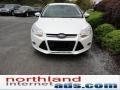 2012 White Platinum Tricoat Metallic Ford Focus SEL 5-Door  photo #3