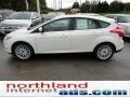 2012 White Platinum Tricoat Metallic Ford Focus SEL 5-Door  photo #5