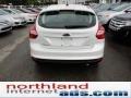 2012 White Platinum Tricoat Metallic Ford Focus SEL 5-Door  photo #7