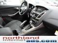 2012 White Platinum Tricoat Metallic Ford Focus SEL 5-Door  photo #17