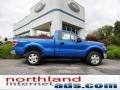 Blue Flame Metallic 2011 Ford F150 XLT Regular Cab 4x4