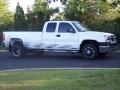 2003 Summit White Chevrolet Silverado 3500 LT Extended Cab 4x4 Dually  photo #3