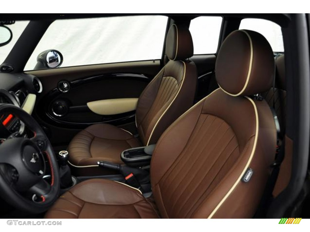 hot chocolate lounge leather interior 2011 mini cooper john cooper works clubman photo 54948151. Black Bedroom Furniture Sets. Home Design Ideas