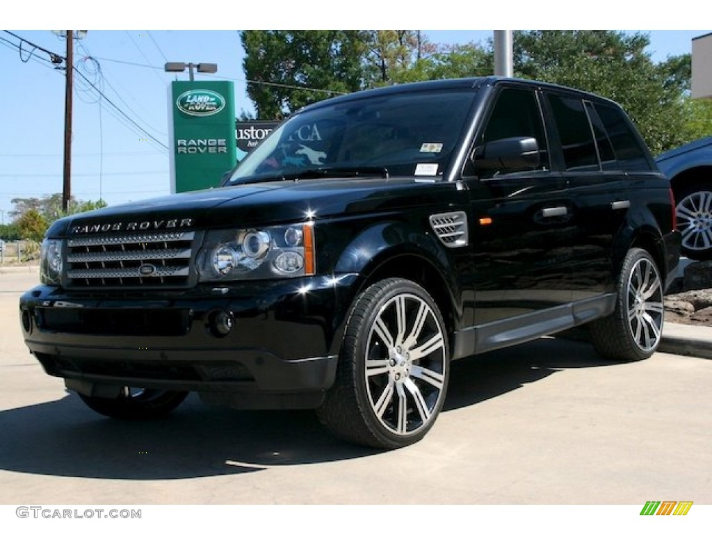 2007 java black pearl land rover range rover sport supercharged 54913358 car. Black Bedroom Furniture Sets. Home Design Ideas