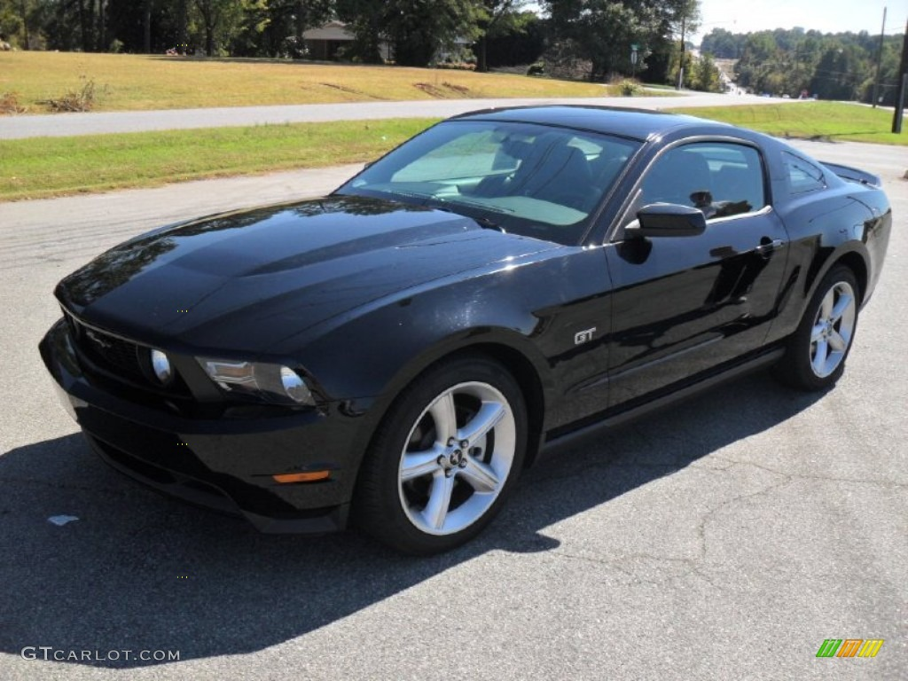 2010 black ford mustang gt premium coupe 54913350 car color galleries. Black Bedroom Furniture Sets. Home Design Ideas